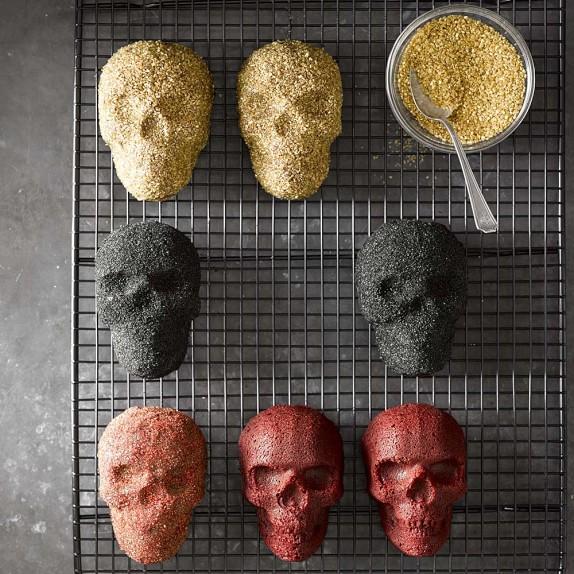 Skull cake pan recipe